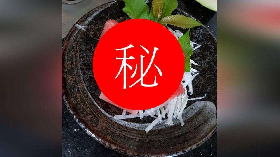 老婆想吃生魚片 貼心尪切這盤 網笑翻:真的鮮嫩多汁