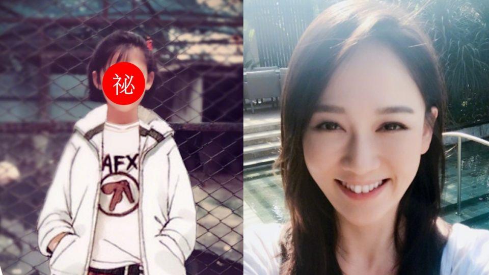 陳喬恩曬「酷跩」童年萌照 網友看呆:怎麼長不像?