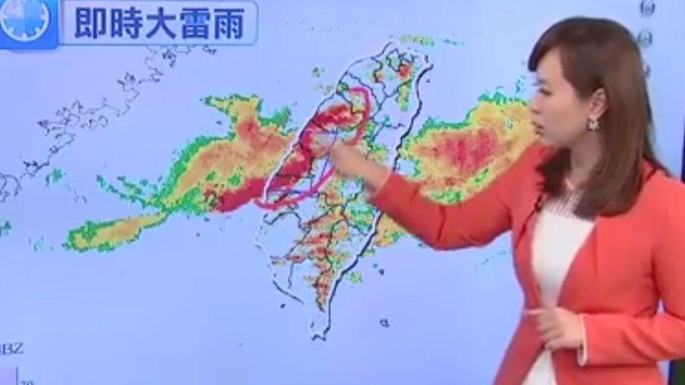 【2017/06/02】鋒面南移! 中南部當心 山區防超大豪雨