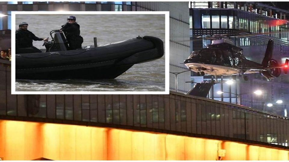 恐攻連3次!英國派「藍色閃電」空降倫敦橋 阿帕契也不缺席