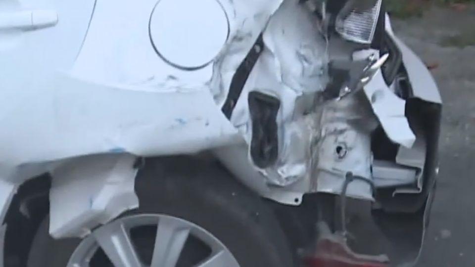 偷車又追撞5輛汽機車 男子受傷被逮