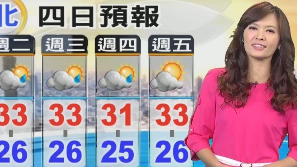 【2017/06/06】今天氣回穩 重返夏季型態 降雨偏午後