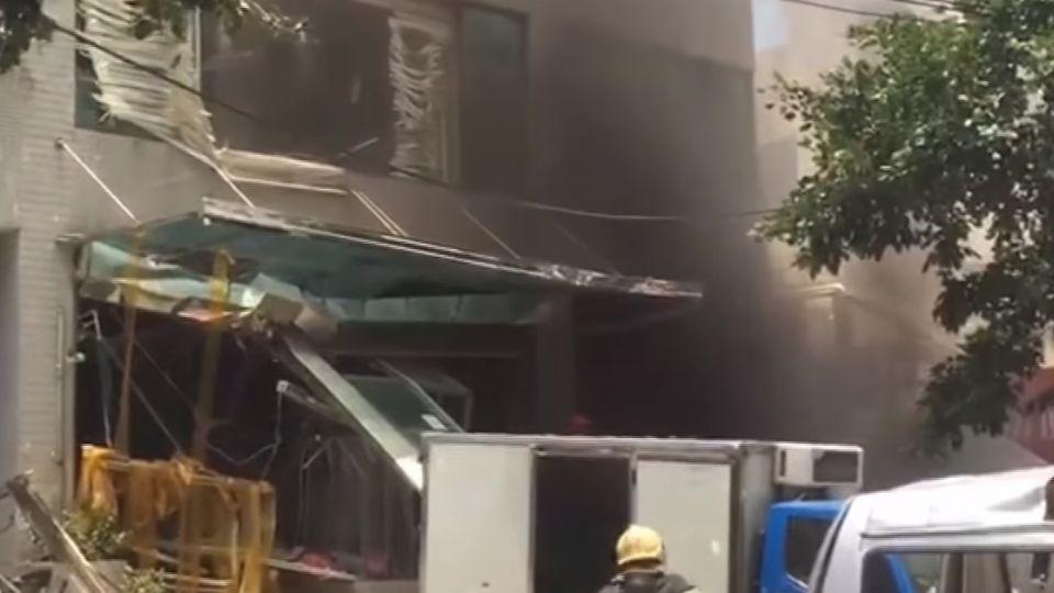 玉膳坊月子餐廠氣爆! 天花板塌 玻璃碎噴飛
