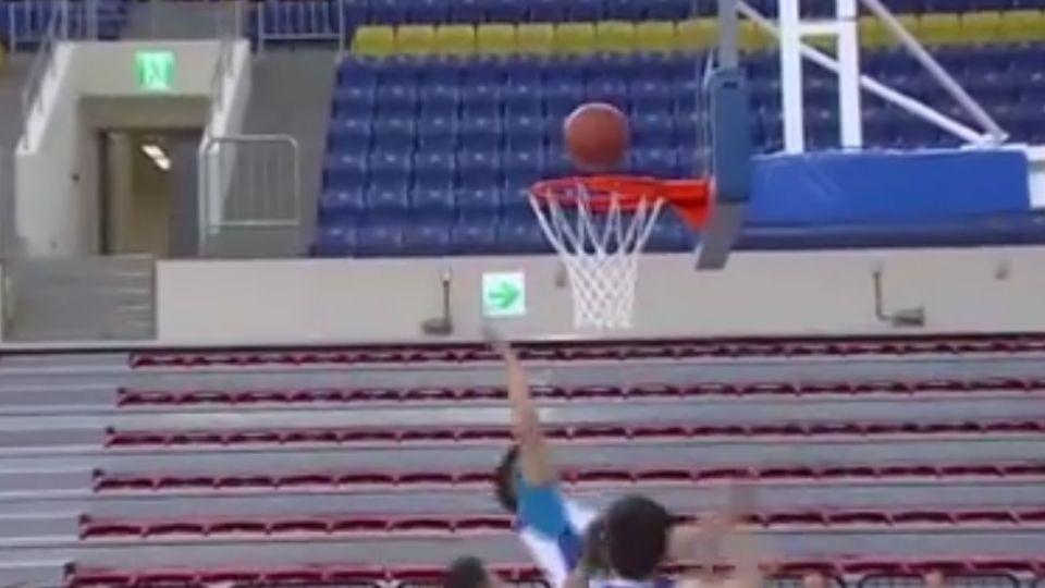 和平籃球館啟用 柯文哲:與小巨蛋做區別