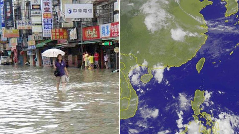 警報!第二波「致災梅雨」這天報到 劇烈降雨狂炸120小時