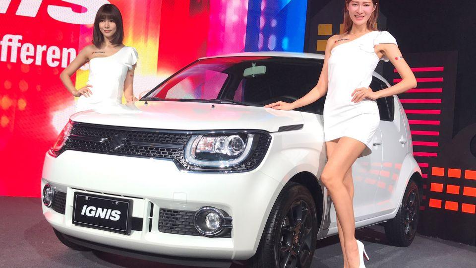 顏值高的都會小車 Suzuki Ignis 62.8萬起正式發表