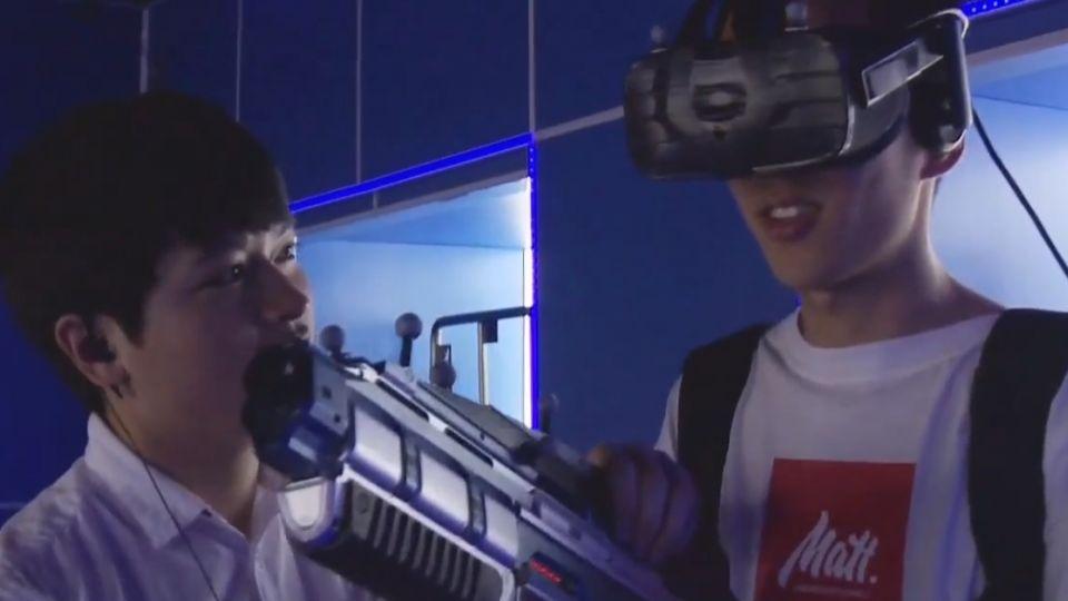VR大升級! 全副裝備打怪 體驗館進「京」