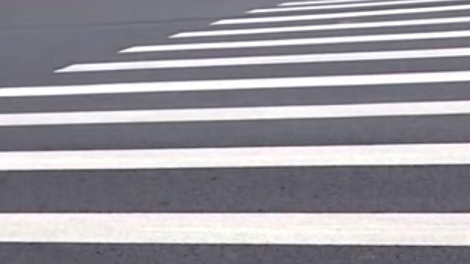 殺手?「道路標線」不防滑 北市騎士每日2起自摔