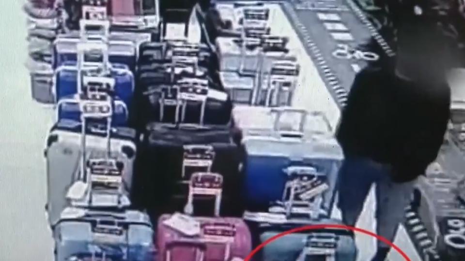 陸生掉皮夾在賣場遭竊 賊把三千贓款藏鞋墊