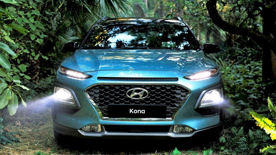 衝著HR-V、C-HR而來!? Hyundai Kona小型SUV正式亮相
