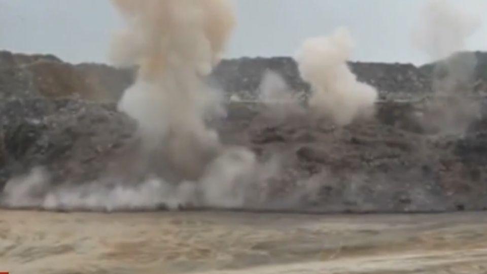 亞泥關西礦場曾炸山開採 居民憶:房被炸裂