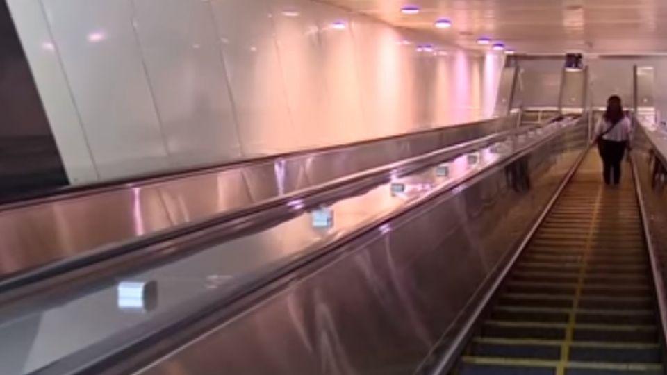 翁搭電扶梯摔倒傷重不治 女控高捷應變失當