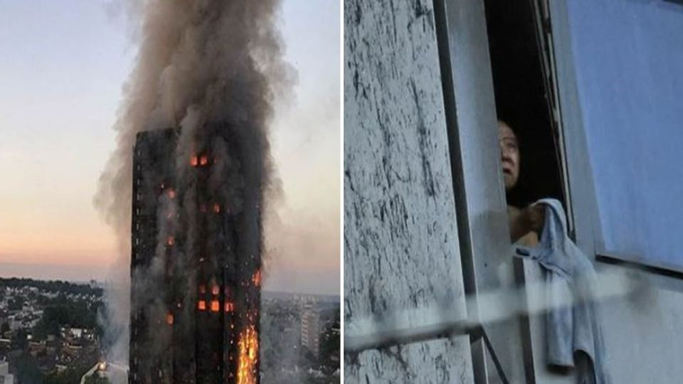【影片】直播7旬視障翁困火海 窗邊哭喊讓網友心碎
