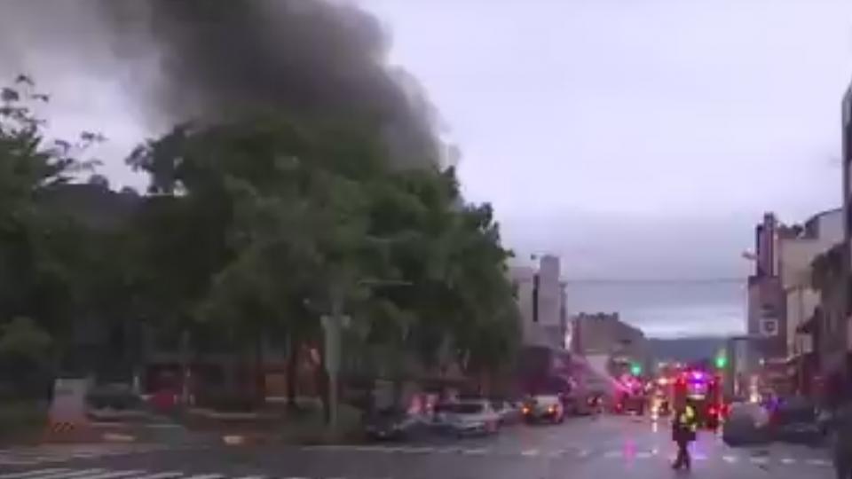 台中連棟鐵皮屋大火!延燒6宅母女成焦屍