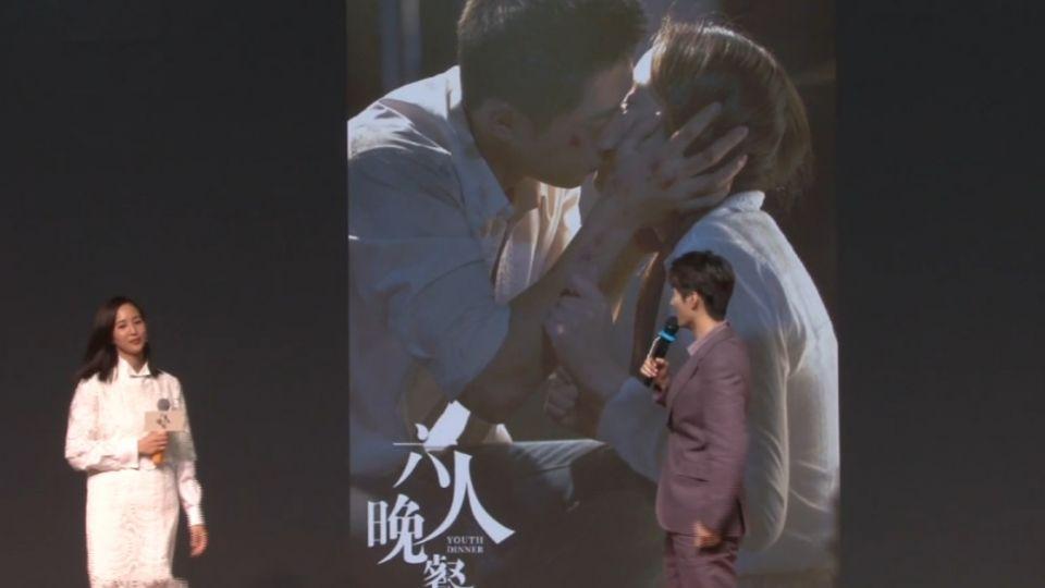 電影首映 張鈞甯:和竇驍熟到自己加吻戲