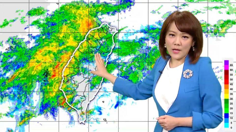 【2017/06/18】鋒面影響續降雨 清晨低溫淡水22度稍涼