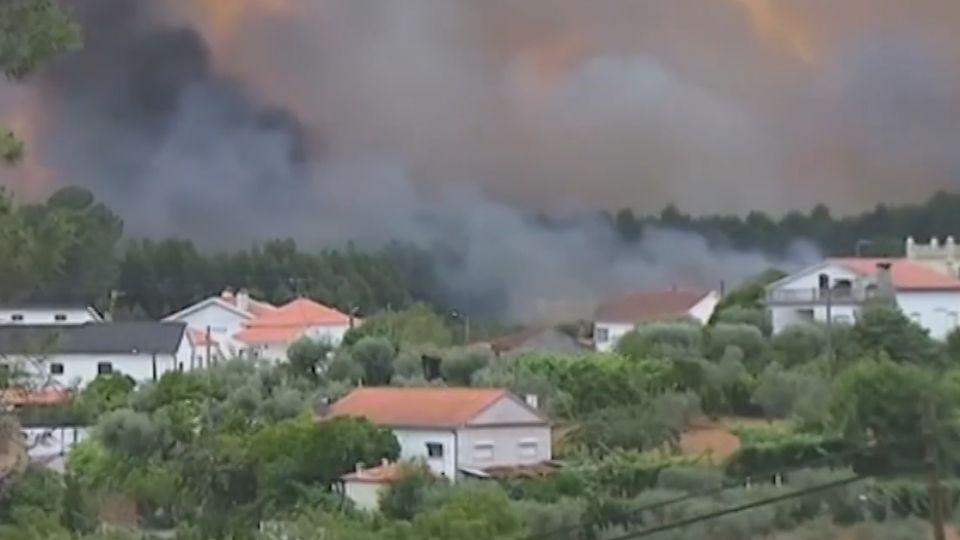 葡國中部嚴重森林野火 62人不幸喪命