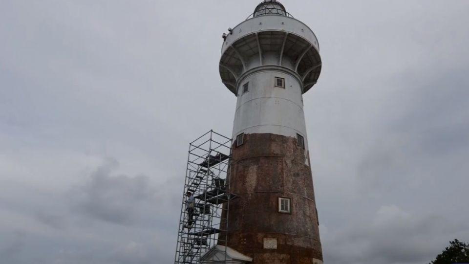 百歲燈塔瘦身美容大作戰 鵝鑾鼻燈塔要回春