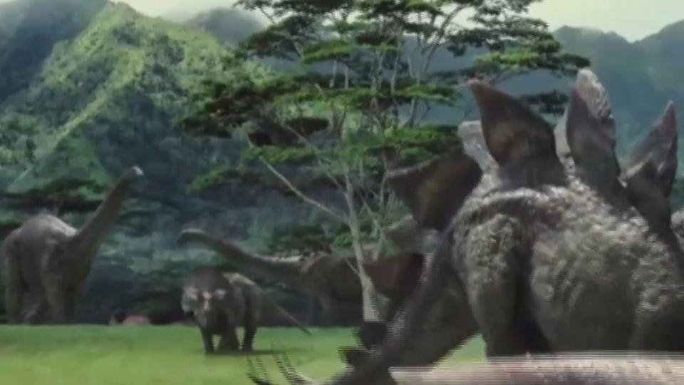 恐龍「木乃伊」 結節龍化石皮膚鱗片可見