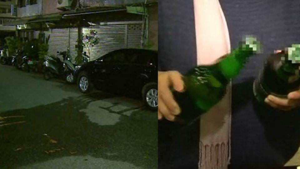 台大教授家門口「裸身喝酒」 一句話讓女警道歉走人