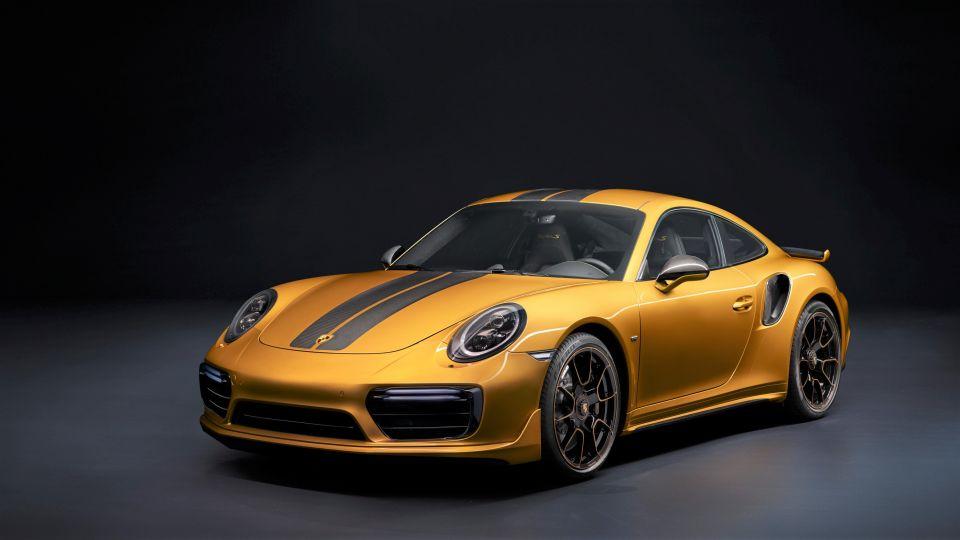 開這台才威! 保時捷911 Turbo S推限量訂製車型