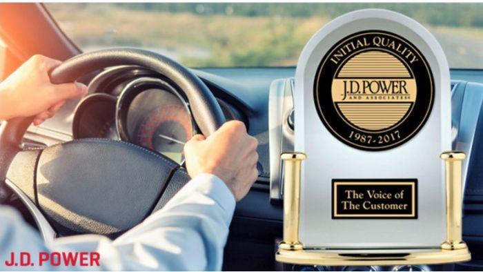 新車品質最佳車廠原來是它? J.D Power公布北美調查報告