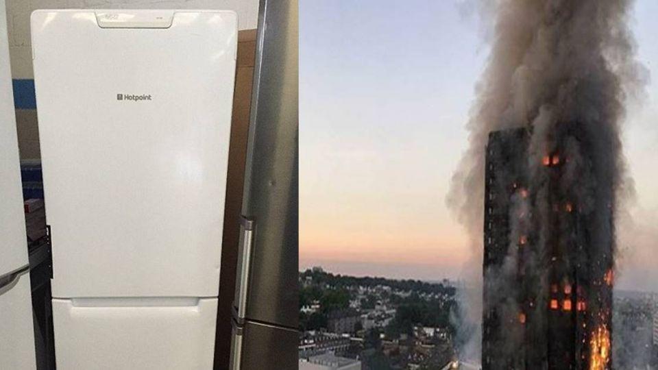 倫敦大火釀悲劇 奪79命原因竟是「這款冰箱」