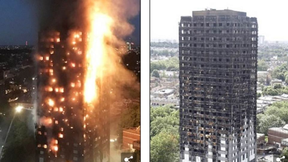 倫敦大火79死!住22樓台灣人逃出煉獄 關鍵「不能哭」