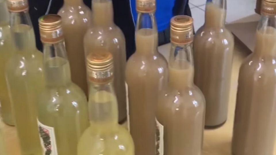 疫苗裝瓶偽裝「高粱酒」流出液體無酒味被逮