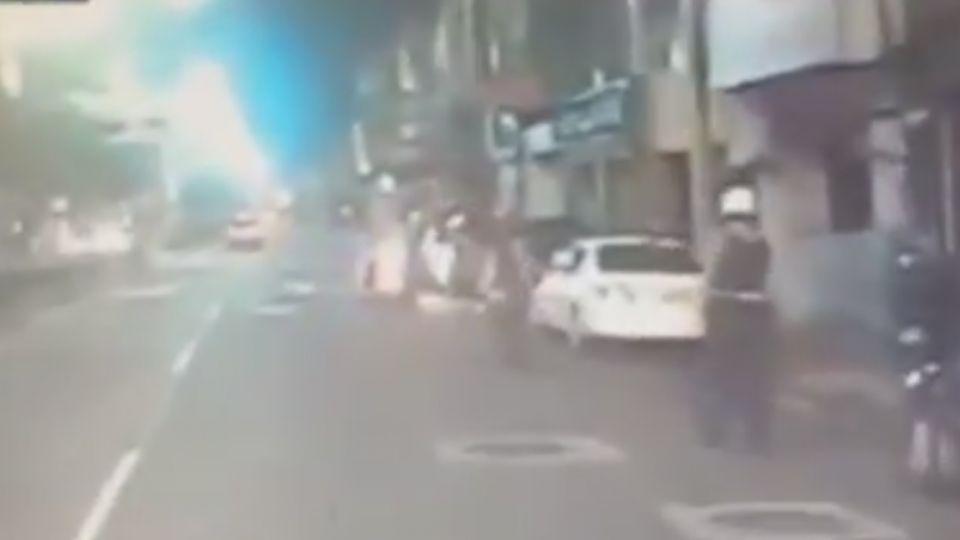 「救命啊」當街遭槍殺 死者保命逃250米仍亡