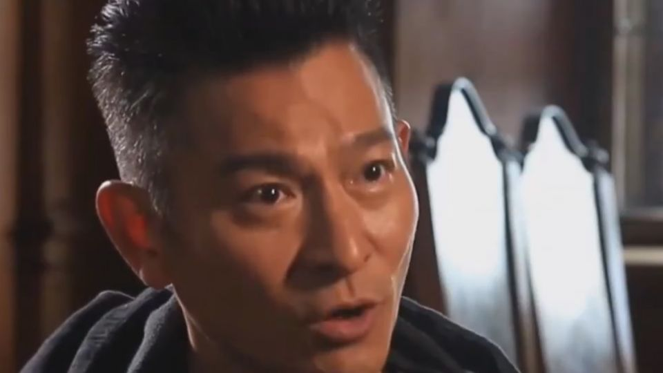 劉德華拍戲又受傷 「俠盜聯盟」額頭撞出血痕