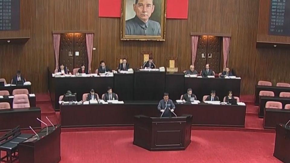 蔡政府年改第一步 立院三讀公職年金案
