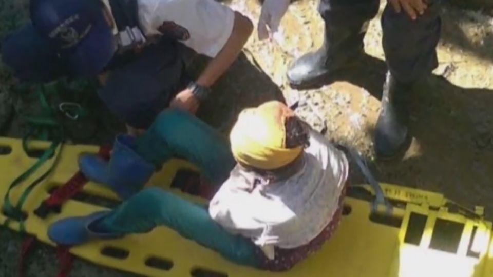 農婦熱昏摔山溝 全台中暑 熱衰竭急診攀升