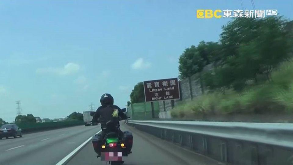 自己的路權自己救!? 重機騎士計畫7/1上國道 高公局:勿挑戰公權力