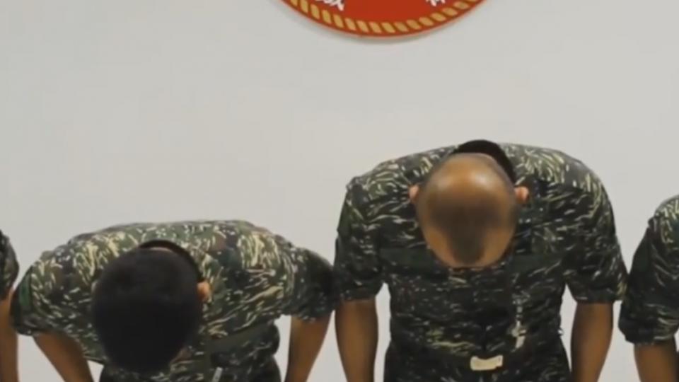海軍陸戰隊員虐死狗 三士兵遭判刑六個月