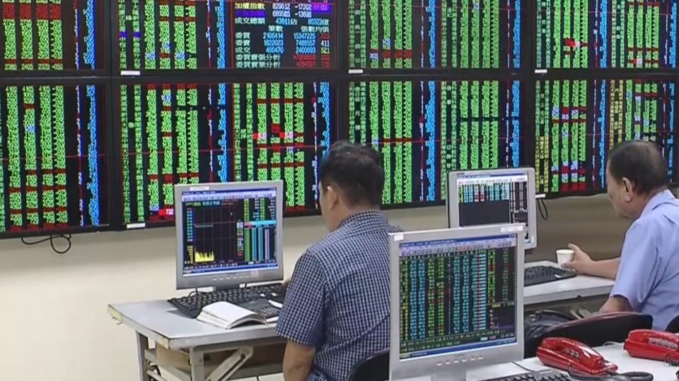 IMF砍預測 美股跌!台股跟跌跳水百點