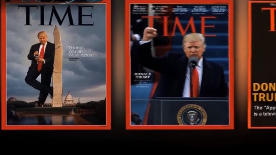 川普掛封面假照 時代雜誌要川普公司撤下