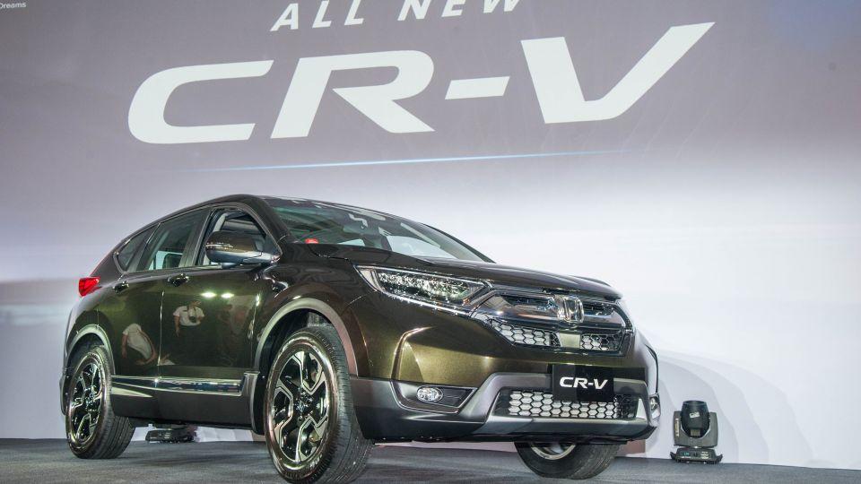 瞎毀!頂規車型一口氣降7萬 國產第五代Honda CR-V正式發表
