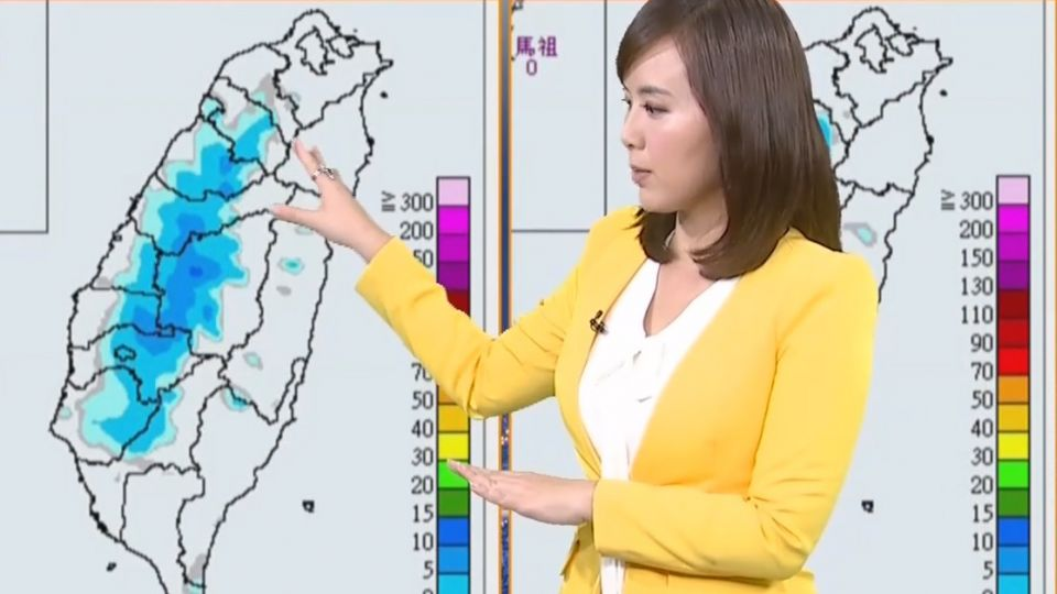 【2017/07/14】午後雷陣雨 台南六甲時雨量一度飆71mm