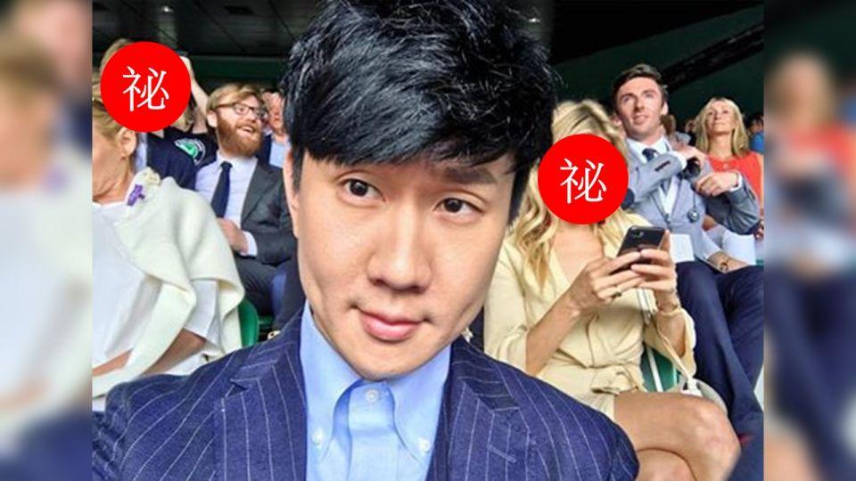 狂!林俊傑秀溫網自拍照 竟和「滿滿好萊塢巨星」同框