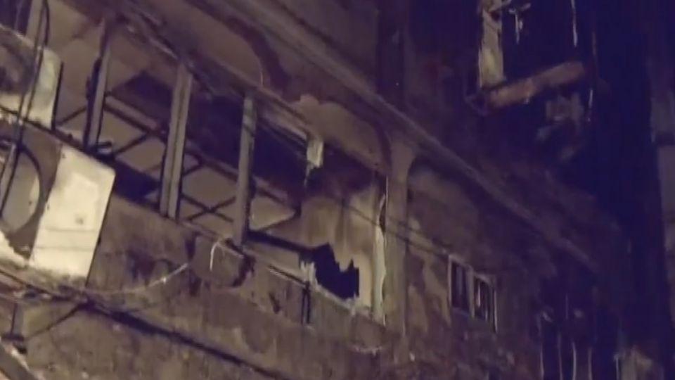 逢甲氣爆封街調查 檢查官確認2樓女屍
