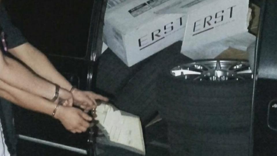 贓胎遭警「放氣」 胎壓偵測器主機狂響逮賊