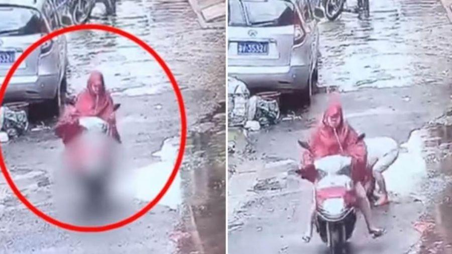 【更新】孕婦騎車撞3歲童!為了落跑…狠心催油門「輾2次」