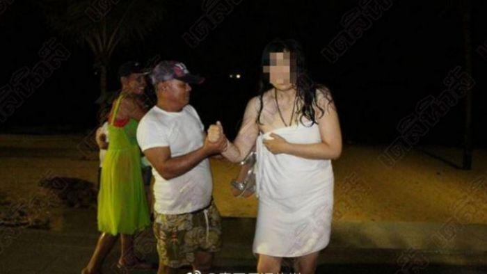 泰國一落地老公「嗨玩」到半夜 她怒「裸奔」報復