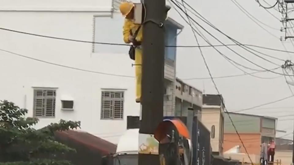 尼莎颱風吹壞電纜 屏東3萬6千戶停電