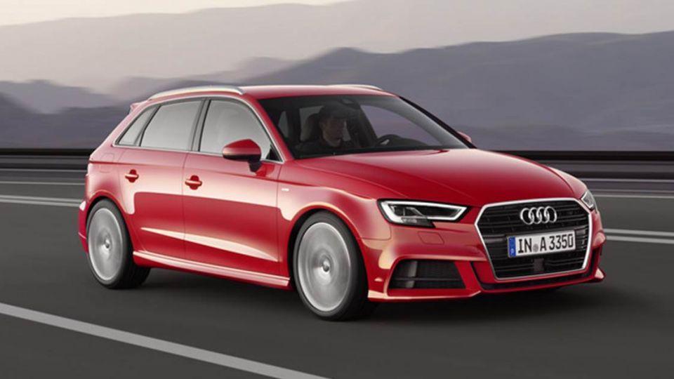 第三代小改款Audi A3登台 強化運動時尚風