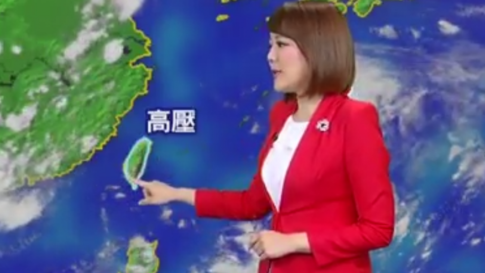 【2017/08/03】大雨特報 午後雷雨雲林古坑時雨62mm