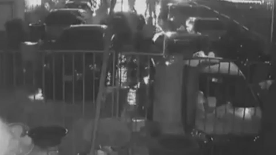 住家車行砸四次、子遭砍 母泣:盼警政署重視