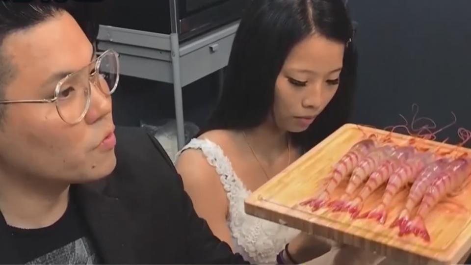 拍賣也得靠貨色 東港三寶蝦:櫻花、鐵甲、葡萄