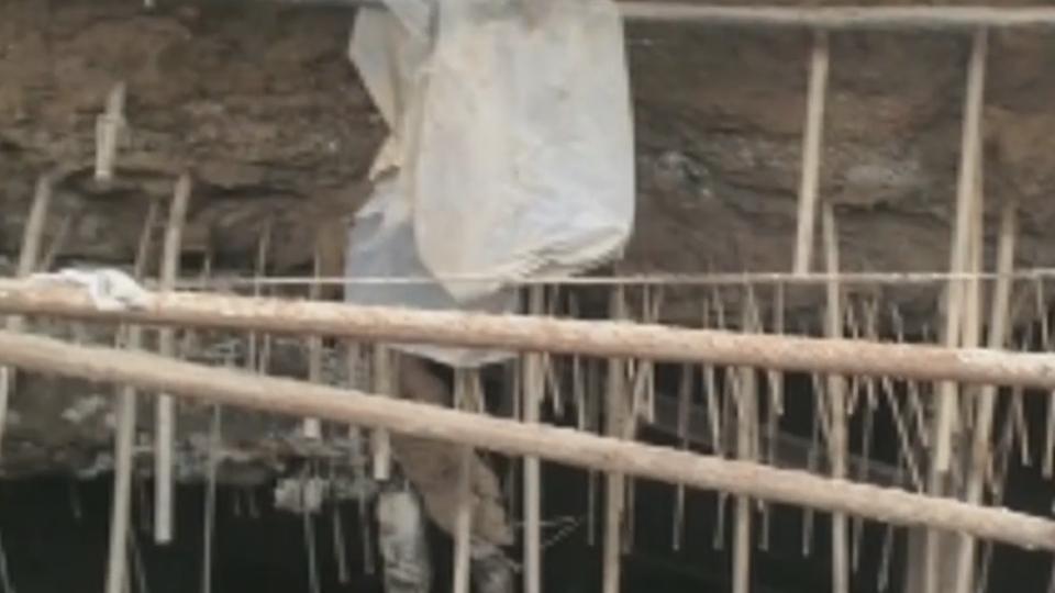 住戶偷挖地下室 買15坪擴建變成105坪